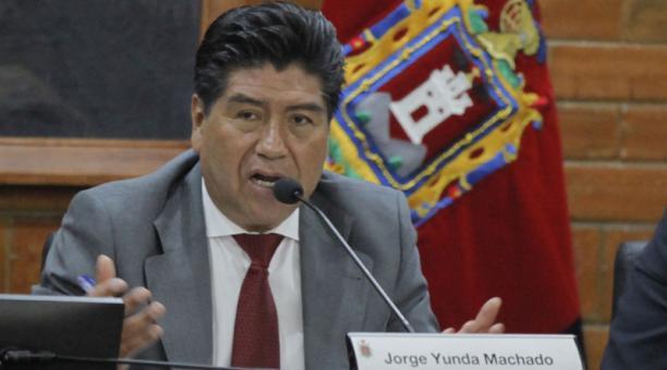 El Juez que llamó a juicio al alcalde de Quito, Jorge Yunda, solicitó al Servicio Nacional de Rehabilitación que
