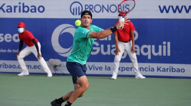 Emilio Gómez se quedó con el primer lugar del Challenger de Salinas 2. Foto: Organización