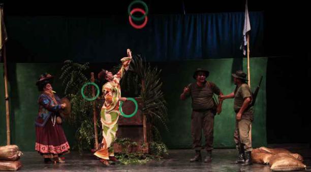 La Trinchera de Manta es la única sala de teatro que existe actualmente en toda la provincia de Manabí; la otra se dañó por el terremoto. Archivo/ El Comercio