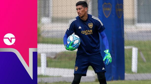 El golero Esteban Andrada, de Boca Juniors, dio positivo en la prueba que se realizó en Guayaquil. Tomado de Boca