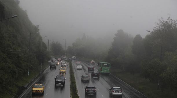 Una imagen de Quito el lunes 3 de mayo del 2021. Foto. Galo Paguay / EL COMERCIO