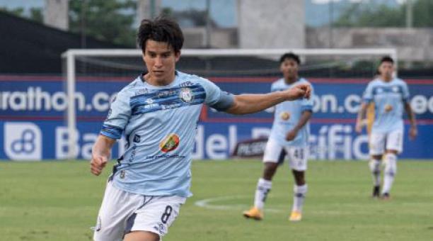 El Guayaquil City empató de visitante ante Olmedo, en Riobamba. Fernando Gaibor fue titular en el partido. Tomado del Guayaquil City