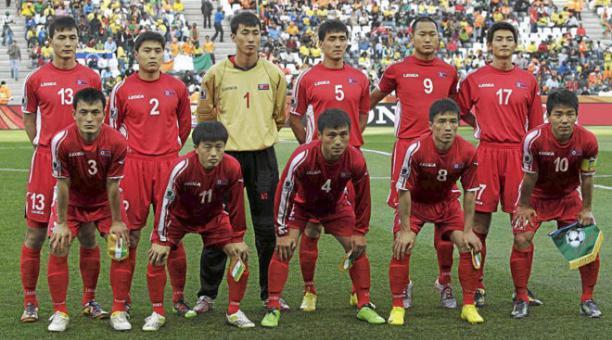 La Selección de Corea del Norte todavía tenía posibilidades de clasificarse al Mundial de Catar 2022. Foto: Diario Marca.
