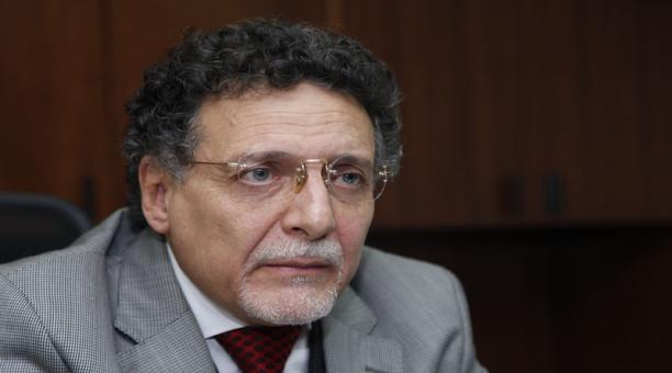 El contralor Pablo Celi, el exsecretario de Presidencia José Agusto Briones, se encuentra procesado por delincuencia organizada en el caso las Torres. Foto: ARCHIVO EL COMERCIO.