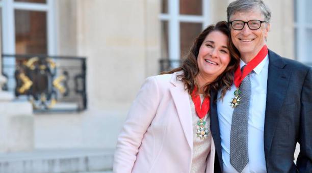 Bill Gates, fundador de Microsoft, estuvo casado con Melinda 27 años. Foto: EFE