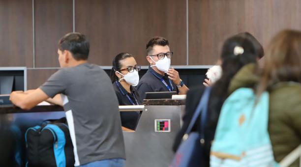 Conforme a las cifras oficiales, en enero se movilizaron 60 249 pasajeros en tráfico aéreo doméstico, mientras que en febrero y marzo lo hicieron 58 908, y 77 500, respectivamente. Foto: Archivo / EL COMERCIO