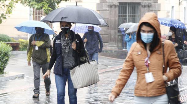 El Inamhi registró una termperatura de 2.2° en el sur de Quito este martes 4 de mayo del 2021. Foto: EL COMERCIO