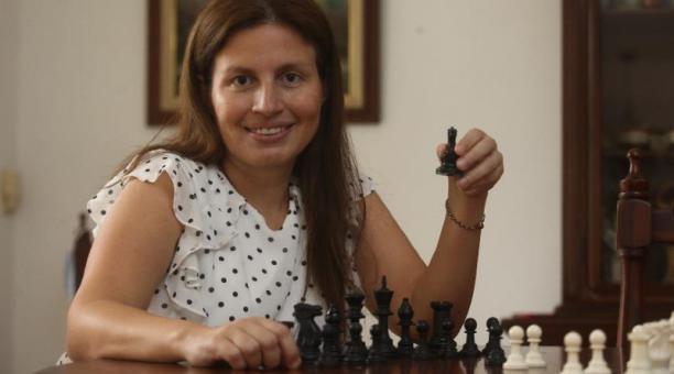 La gran maestra internacional de ajedrez, Martha Fierro. Foto: Enrique Pesantes / EL COMERCIO