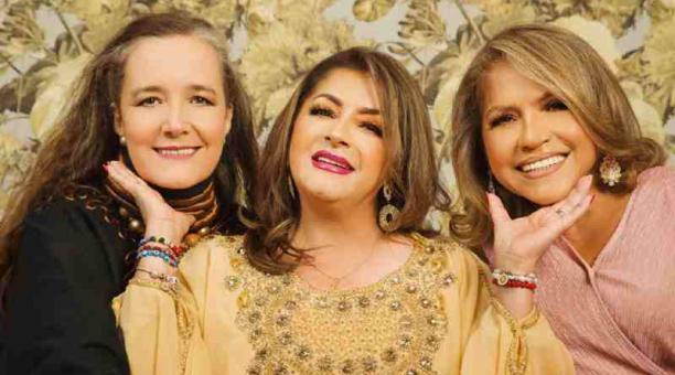 Margarita Laso, Paulina Tamayo y Jenny  Rosero darán una función 'on line' el domingo. Foto: Cortesía