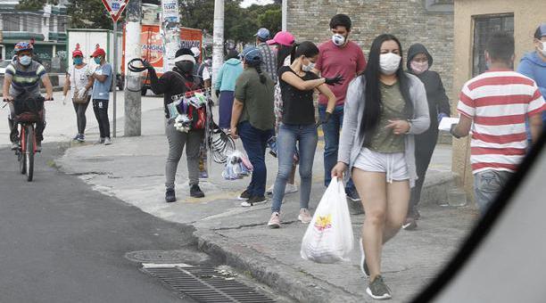 Quito es la ciudad más golpeada por la pandemia con 127 532 casos, esto es 643 más que el martes 4 de mayo de 2021. Foto: Eduardo Terán/ EL COMERCIO.