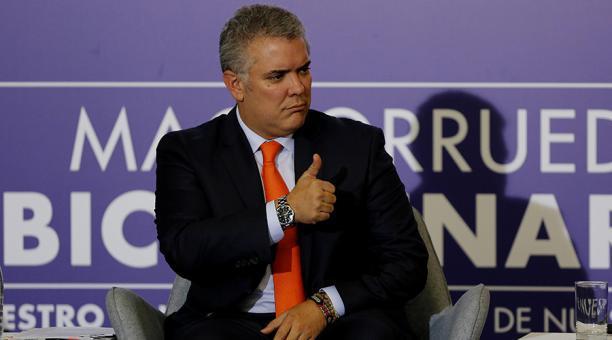 Iván Duque, actual presidente de Colombia. Foto: EFE