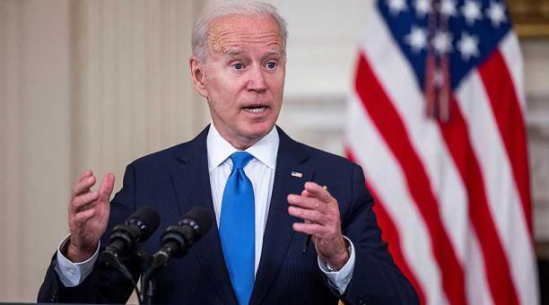 El anuncio del presidente Joe Biden fue acogido con fuertes caídas de las acciones de las farmacéuticas Pfizer y BioNTech, además de Moderna y Novavax en la bolsa de Wall Street. Foto: EFE