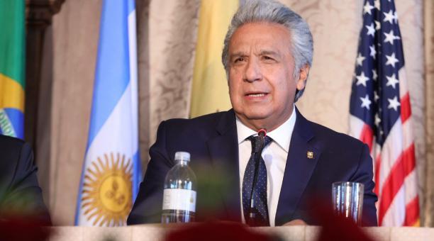 El presidente Lenín Moreno, participó en el