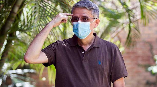 José Manuel Matheu decidió buscar la presidencia de Honduras luego de recuperarse de covid-19, enfermedad por la que estuvo a punto de morir en enero. Foto: EFE