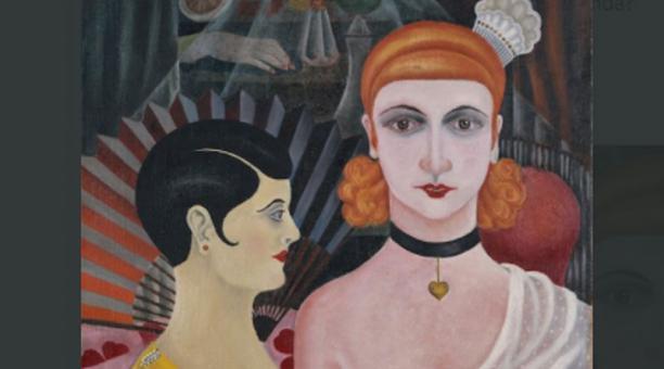 Una exposición de los locos años 20 se exhibe en el Museo Guggenheim de Bilbao, España. Foto: Instagram @MuseoGuggenheim
