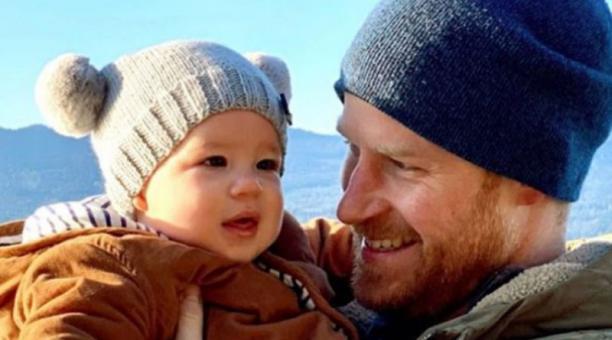Archie, hijo de Meghan Markle y el príncipe Enrique cumple dos años. Foto: Instagram