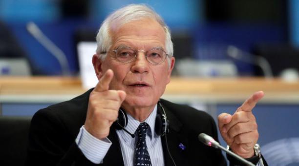 Borrell expresó a los ministros reunidos en la capital británica la
