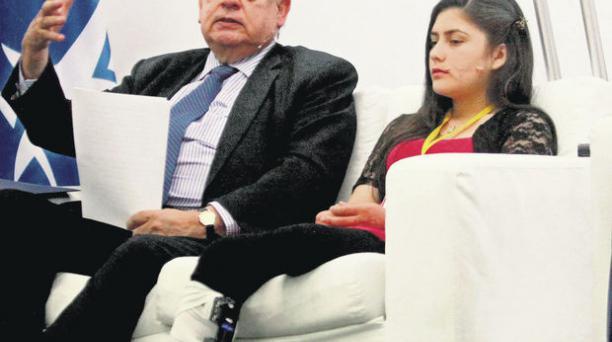 El secretario de la OEA, José Insulza, estuvo ayer en Colombia, en un acto sobre el desminado. Eduardo noriega / efe