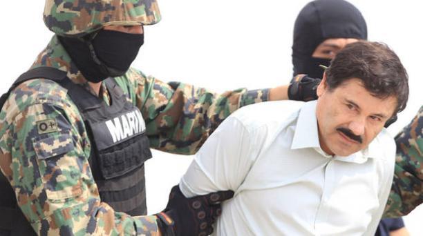 Captura del capo del narcotráfico Joaquín 'El Chapo' Guzman. Foto: EFE
