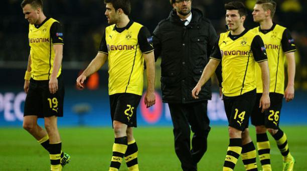 Borussia Dortmund dejó en el camino al Zenit y se clasificó a cuartos de final de la Champions League. Foto: AFP