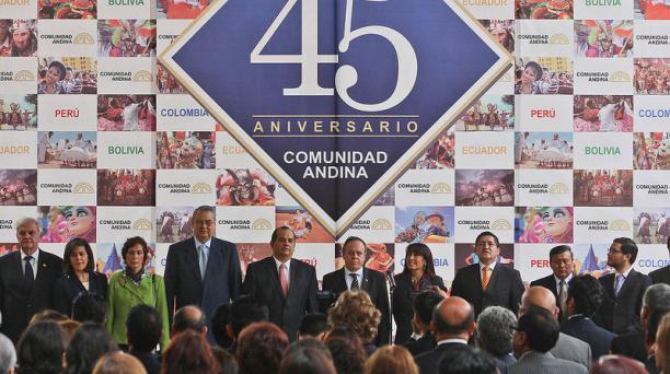 La Comunidad Andina cumple 45 años. Foto: Flickr de la Comunidad Andina
