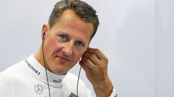 El alemán de Fórmula Uno Michael Schumacher. Foto: Archivo/EFE