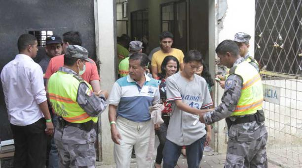 Ministerio de Justicia empezará a aplicar un nuevo sistema de control digital a las visitas en los centros de reclusión. Foto: Joffre Flores / El Comercio
