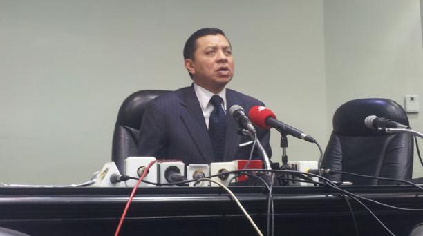 El procurador judicial del organismo, Alejandro Vanegas. Foto: EL COMERCIO