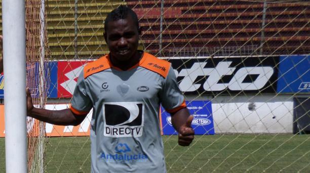 Delgado marcó el gol del empate de Aucas ante Liga (P), con el que aseguró el título de la Primera B.