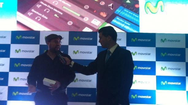 En un evento realizado en las instalaciones del Centro Comercial Quicentro, Movistar lanzó los nuevos modelos de iPhone 6 en Ecuador. Foto: EL COMERCIO