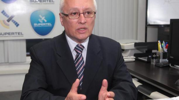 Fabián Jaramillo, titular de la Supertel, aseguró que todos los proyectos serán tomados por la nueva entidad, la Agencia de Regulación y Control de las Telecomunicaciones. Foto: Mario Faustos/ El Comercio