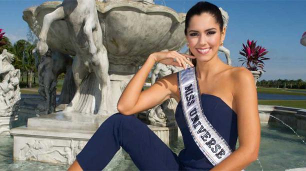 Paulina Vega, de 22 años, se convirtió en la segunda colombiana en conquistar el título de Miss Universo. Foto: EFE/Darren Decker/Miss Universe