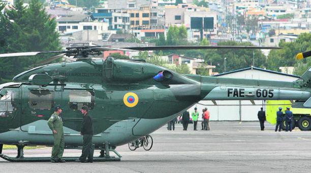 Los Dhruv sirven para emergencias, apoyo, transporte menor. El siniestro fue en 2009. Foto: EL COMERCIO.