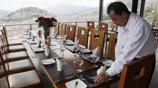 Las reservas para cenar en el Restaurante Mirador El Ventanal (San Juan) se agotaron. Foto: Galo Paguay/ EL COMERCIO.