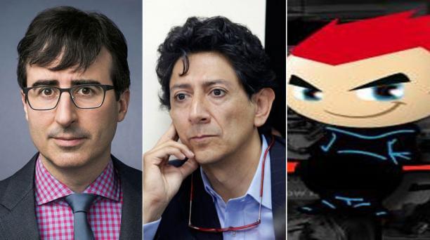 John Oliver,  Xavier Bonilla y Crudo Ecuador.
