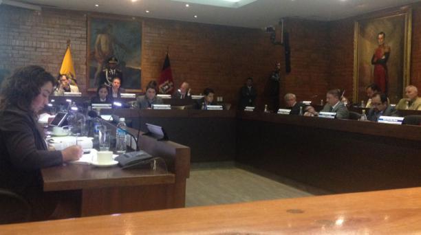 Sesión extraordinaria del Concejo Metropolitano de Quito. Foto: EL COMERCIO