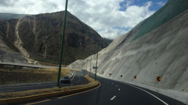 En la mañana no hubo congestión en la ruta Collas. Foto: Ana Guerrero / EL COMERCIO.