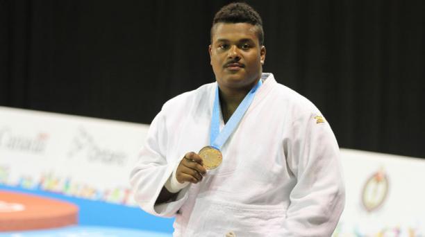 El judoca Freddy Figueroa logró la medalla de plata en la división más de 100 kg. Esa fue la presea 100 de Ecuador  en la historia de los Panamericanos.