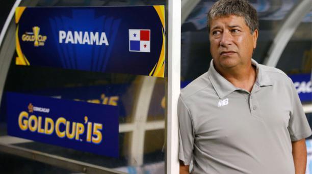 El seleccionador de Panamá, el colombiano Hernán