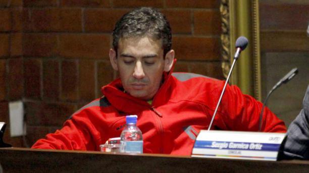 El concejal Antonio Ricaurte ha pedido disculpas por sus declaraciones en un video, donde menciona a la edil Carla Cevallos. Foto: Archivo/ EL COMERCIO