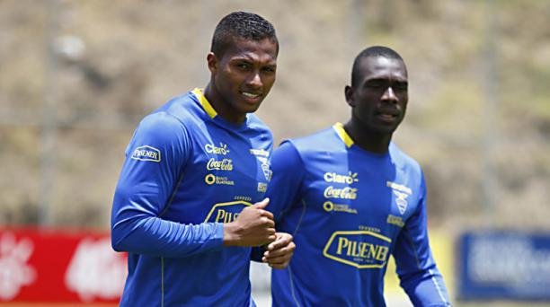 Antonio Valencia y Segundo Castillo vuelven a la Selección de Ecuador para nuevas eliminatorias. Foto: Patricio Terán / EL COMERCIO