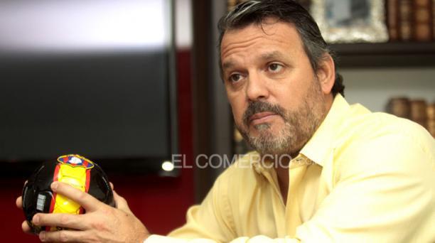 Luis Noboa aspira a ser el nuevo presidente de Barcelona. Foto: Gabriel Proaño/El Comercio