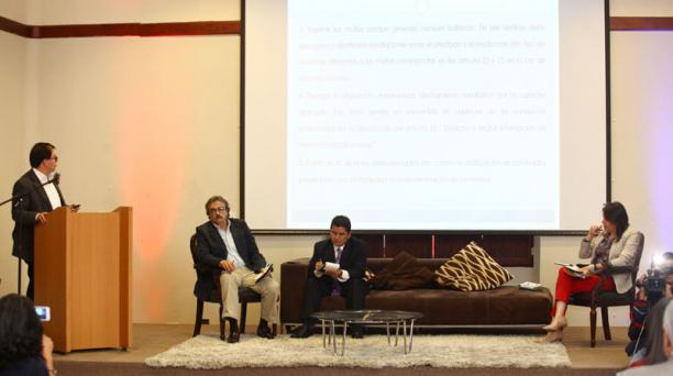 En el Centro de Convenciones Eugenio Espejo se realizó la cita de la SIP. Foto: Julio Estrella / EL COMERCIO
