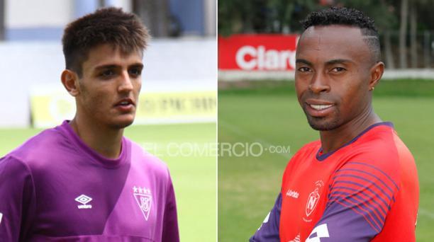 Juan Cavallaro y Christian Lara. Fotos: EL COMERCIO