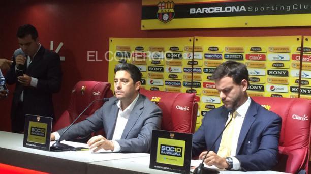Antonio Noboa, presidente de Barcelona Sporting Club, se defenderá de las acusaciones por supuesto lavado de activos. Foto: Mario Faustos/ EL COMERCIO