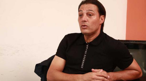 Alfaro Moreno, binomio de José Francisco Cevallos en las elecciones de Barcelona SC, confesó que se sintió nervioso durante el conteo de votos. Foto: Archivo El Comercio