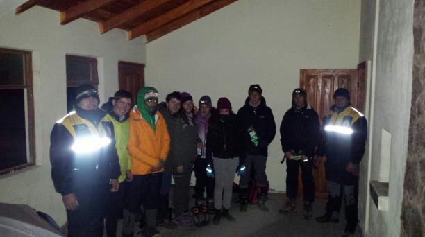 Las mujeres del grupo de jóvenes desaparecidos presentaron principios de hipotermia, cuando fueron halladas. Foto: Cortesía ECU 911