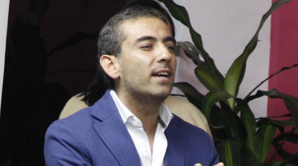 Antonio Ricaurte fue nombrado el vocero oficial del Movimiento Vive. Foto: Galo Paguay / EL COMERCIO