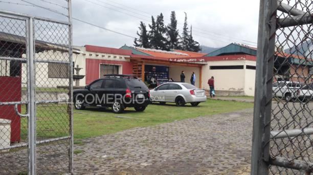 Los jugadores mantuvieron una reunión con la dirigencia del Deportivo Quito. Foto: David Paredes/ EL COMERCIO