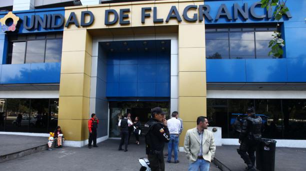Los detenidos permanecen en la Unidad de Flagrancia hasta la audiencia respectiva. Foto: Archivo / EL COMERCIO